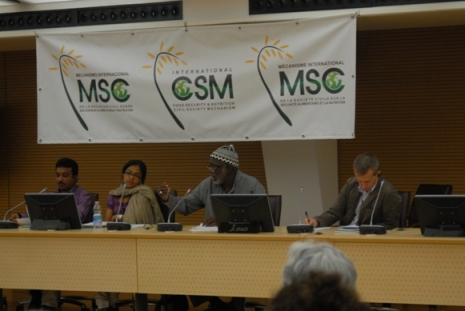 MC et advisory commitee MSC au Forum 2011